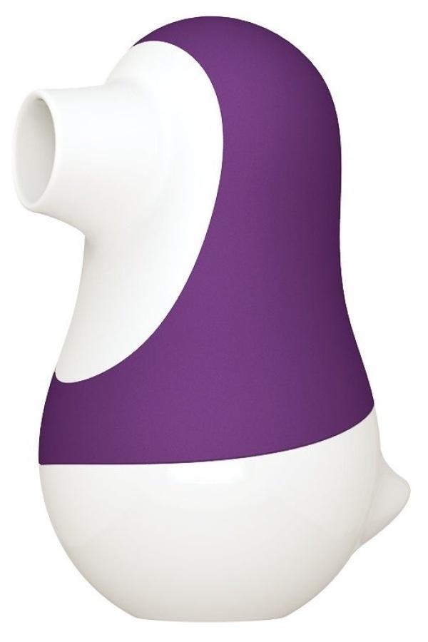 Фиолетовый клиторальный стимулятор Pinguino