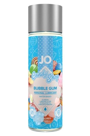 Смазка на водной основе Candy Shop Bubblegum с ароматом жвачки - 60 мл.