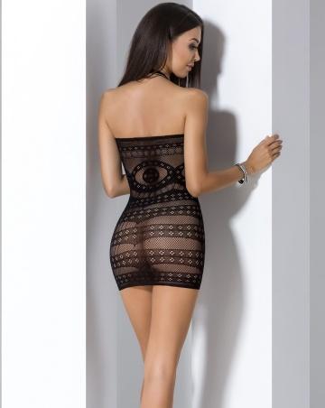 Сексуальное платье-сетка