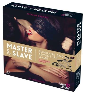 Эротическая игра Master & Slave с аксессуарами