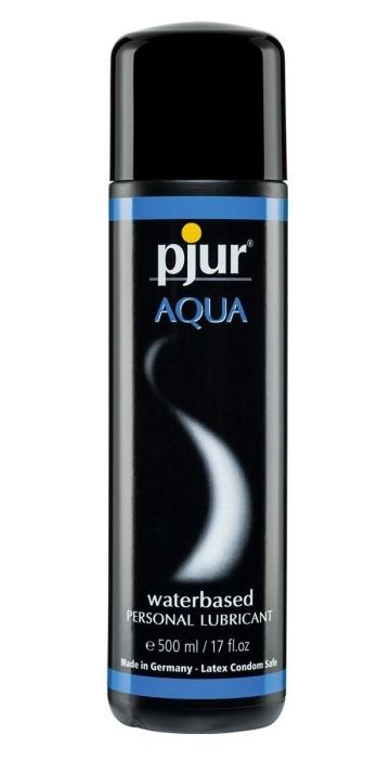 Увлажняющий лубрикант pjur AQUA - 500 мл.