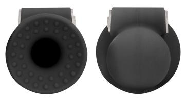 Черные накладки-присоски на соски с вибрацией Vibrating Nipple Suckers