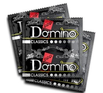 "Ароматизированные презервативы Domino ""Земляника"" - 3 шт."