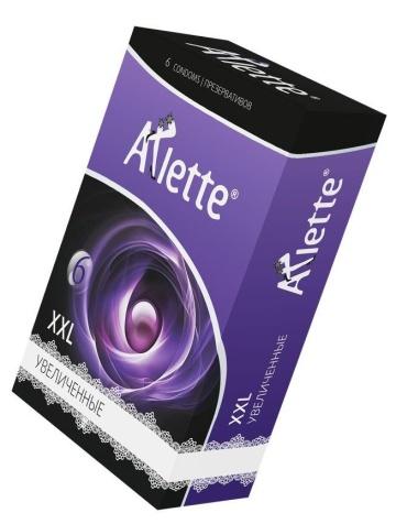 Презервативы Arlette XXL увеличенного размера - 6 шт.