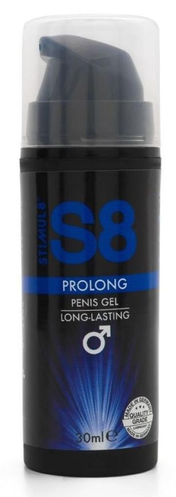Пролонгирующий гель-смазка Stimul8 Prolong - 30 мл.
