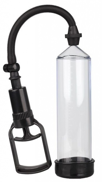 Прозрачная вакуумная помпа TRIGGER HANDLE PENIS PUMP