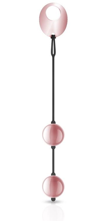 Розовые вагинальные шарики Kegel Balls