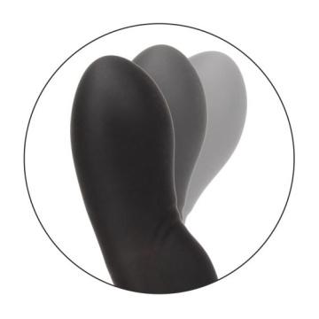 Чёрный вибромассажер простаты Eclipse Rocking Probe - 11,5 см.