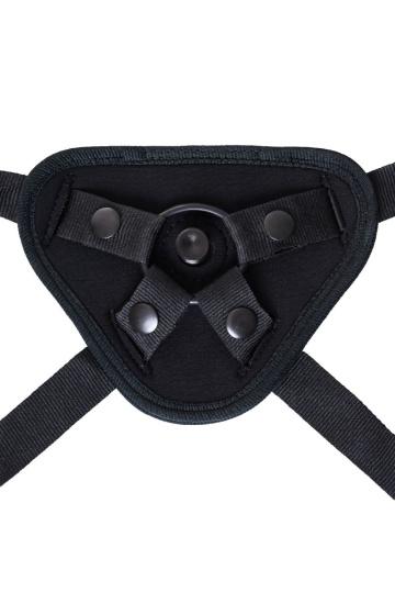 Черные трусики для страпона Master