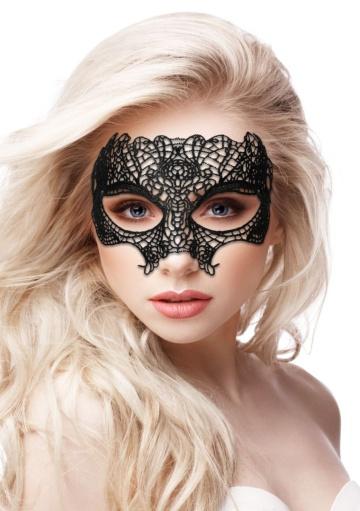 Черная кружевная маска Princess Black Lace Mask