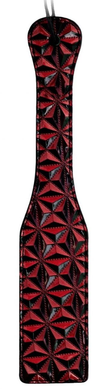 Бордовая шлепалка Luxury Paddle - 31,5 см.