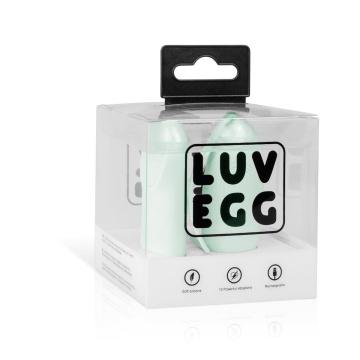 Мятное виброяйцо LUV EGG с пультом ДУ