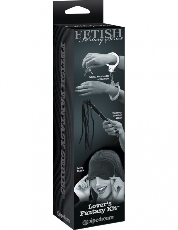 Набор БДСМ-девайсов Lover Fetish Fantasy Limited Edition