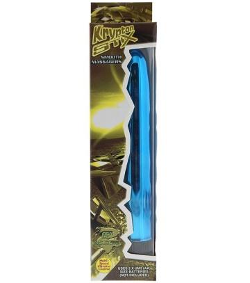 Голубой вибратор KRYPTON STIX 6 MASSAGER - 15,2 см.