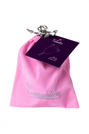 Фиолетовая менструальная чаша Lila L