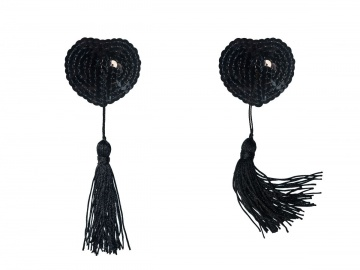 Черные пэстисы Gipsy с кисточками