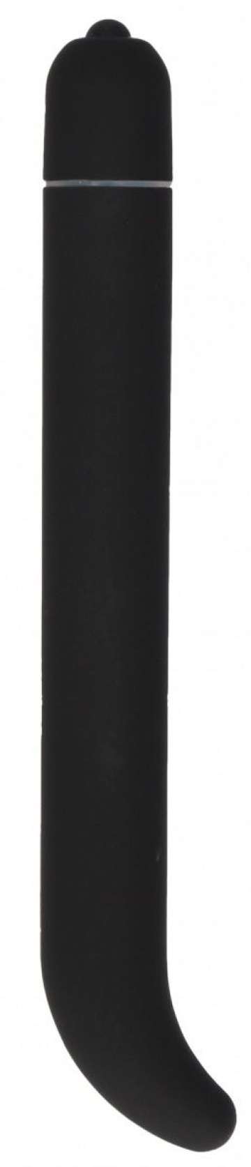 Черный компактный вибростимулятор G-Spot Vibrator - 16 см.