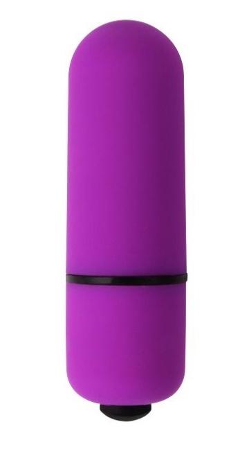 Фиолетовая вибропулька My First Mini Love Bullet