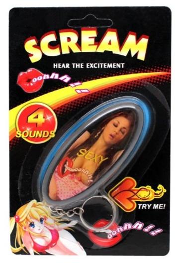 Брелок для ключей со звуком «Секси»