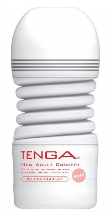 Мастурбатор TENGA Rolling Head Cup Soft