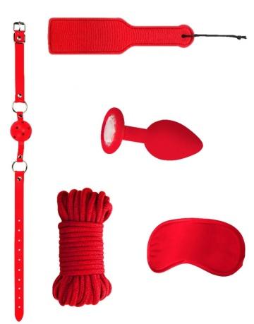 Красный игровой набор Introductory Bondage Kit №5