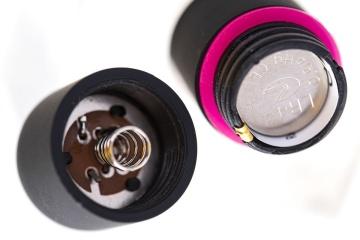 Черная вибропуля A-Toys Braz - 5,5 см.