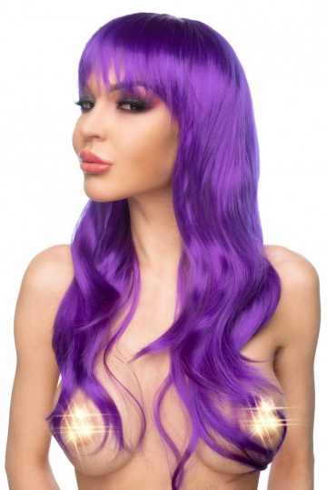 """Фиолетовый парик """"Азэми"""""""