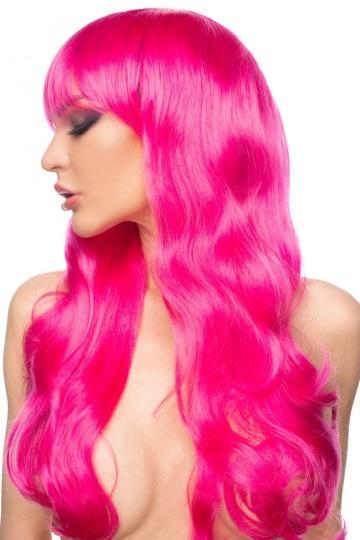 """Ярко-розовый парик """"Акэйн"""""""