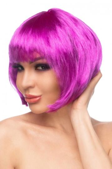 """Фиолетовый парик """"Кику"""""""