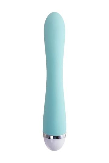 Мятный вибратор-кролик Iris - 22 см.