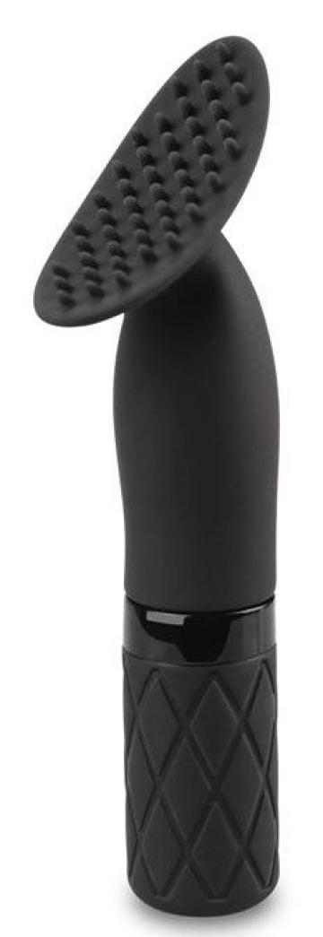 Черный клиторальный стимулятор O-Sensual Clit Jiggle