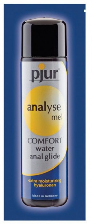 Анальный лубрикант pjur ANALYSE ME Comfort Water Anal Glide - 2 мл.
