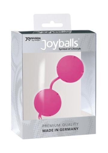 Розовые вагинальные шарики Joyballs Pink