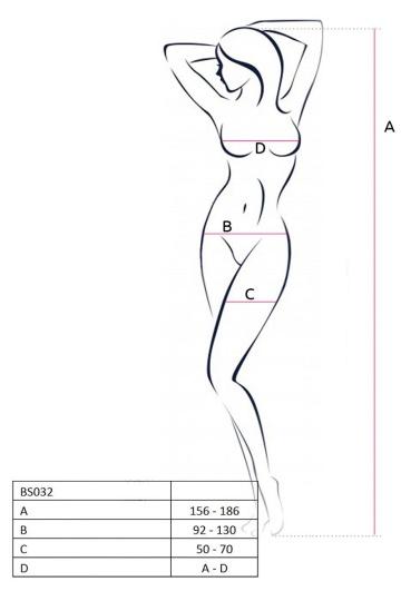 Эффектный комбинезон с ячейками различных форм и размеров