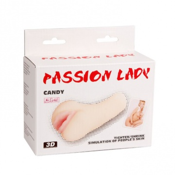 Мастурбатор-вагина Candy - 14 см.