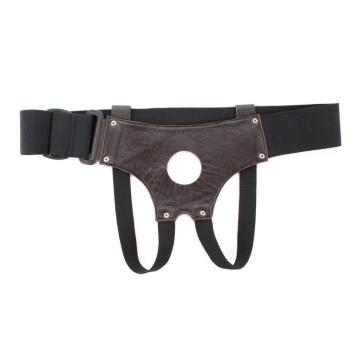 Трусики для страпона коричневого цвета