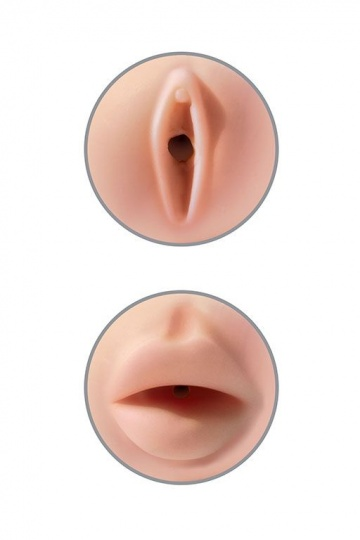 Мастурбатор вагина-ротик Pipedream Extreme Toyz Tight Grip Pussy & Mouth