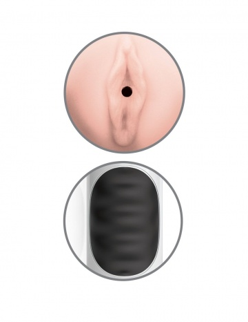 Мастурбатор-вагина Mega Grip Vibrating Stroker Pussy