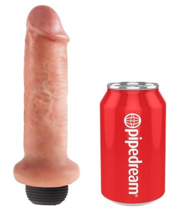 """Фаллоимитатор с имитацией семяизвержения 6"""" Squirting Cock - 17,8 см."""