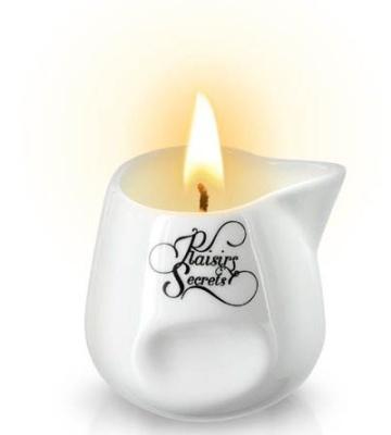 Массажная свеча с ароматом ванили Bougie Massage Gourmande Vanille - 80 мл.