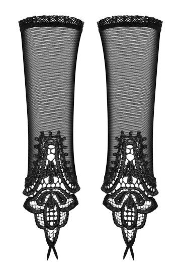 Перчатки с ажурными вставками Luiza