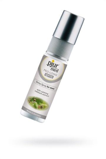 Пролонгирующий спрей с экстрактом дуба и пантенолом pjur MED Pro-long Spray - 20 мл.