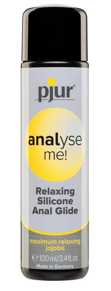 Анальный лубрикант pjur ANALYSE ME glide - 100 мл.