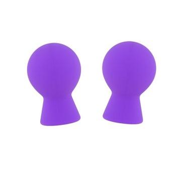Фиолетовые присоски для груди LIT-UP NIPPLE SUCKERS SMALL PURPLE