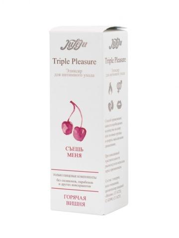 "Эликсир Triple Pleasure ""Горячая вишня"" - 130 гр."