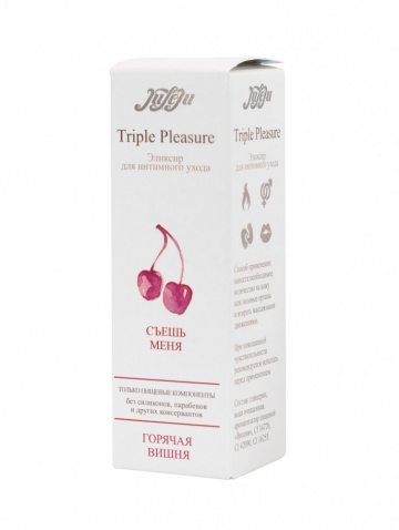 "Эликсир Triple Pleasure ""Горячая вишня"" - 65 гр."