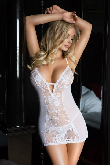 Ночная сорочка Bridget с нежным ажуром