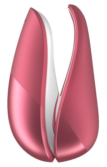 Розовый бесконтактный клиторальный стимулятор Womanizer Liberty