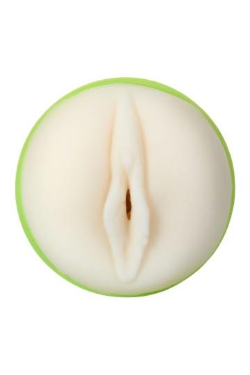 Мастурбатор-вагина A-Toys в зеленой колбе